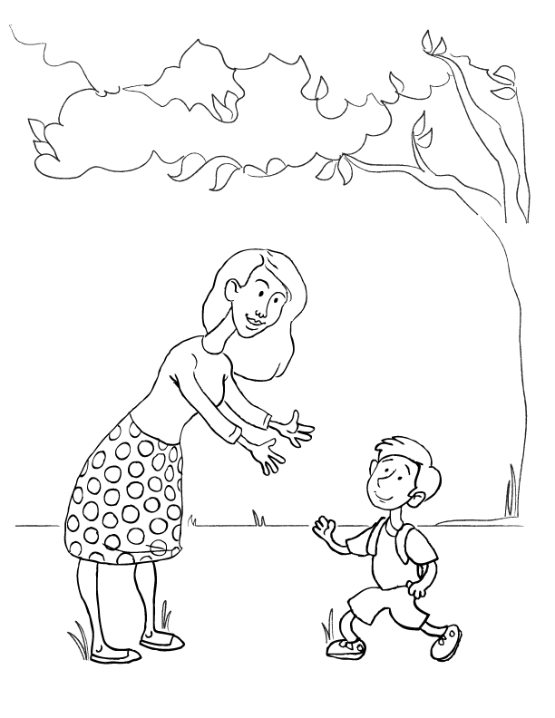people of a mom coloring pages | Mother's Day Coloring Pages | Make and Takes