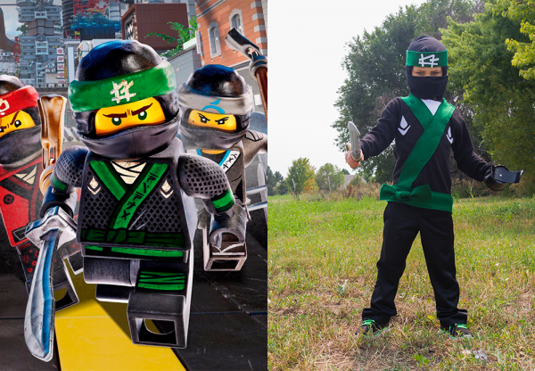 DIY lego ninjago costume lego ninjago green ninja costume ninja costume DIY & DIY LEGO Ninjago Costume | Make and Takes