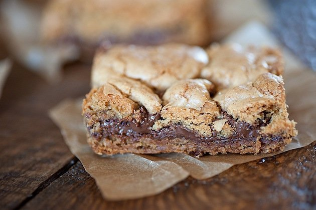 nutella bar cookies