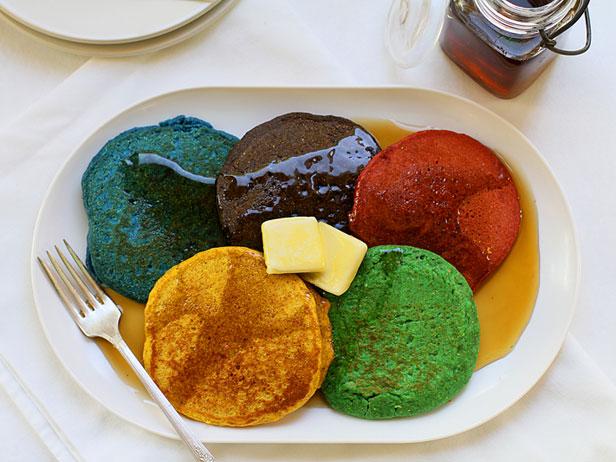 Olympic Breakfast Pancakes