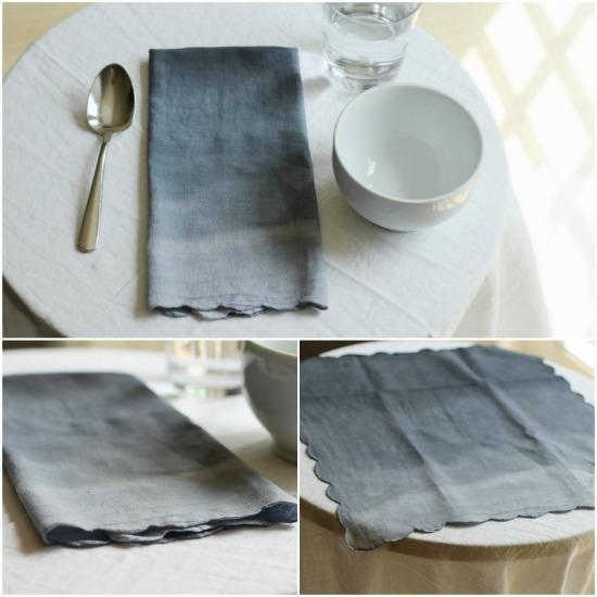 ombre napkin