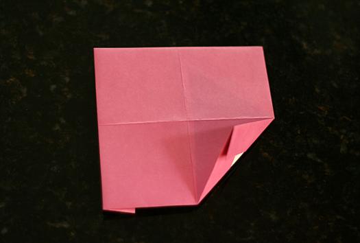 origami frame step 4