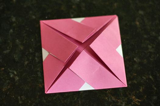 origami frame step 5