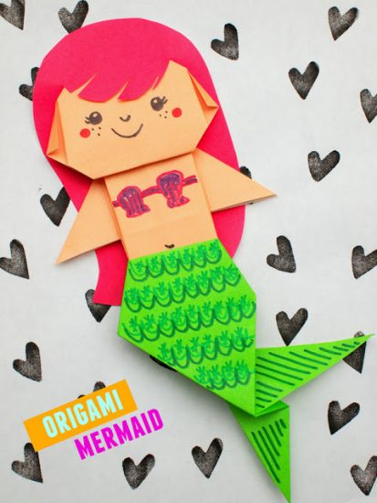 origami-mermaid