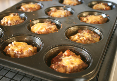 Muffin Tin Meatloaves
