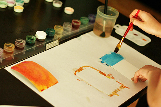 Watercolor popsicles