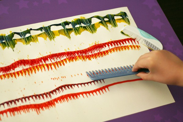 Painting With Combs