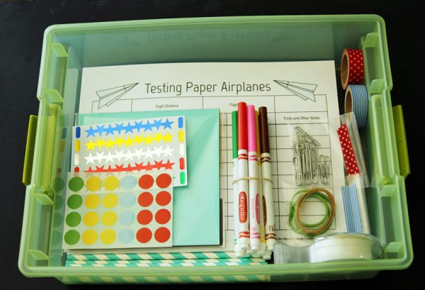 Paper airplane kit - gift for kids