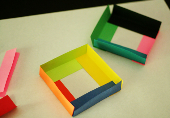 Paper Cube Sculptures Make And Takes