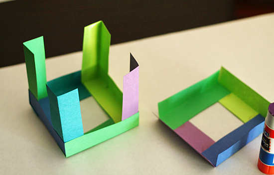 How to Make a Paper Cube (with Pictures) - wikiHow | 351x550