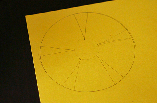 template of a daffodil - pretty paper daffodils make and takes