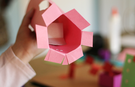 Creating 3-D Paper With Kids