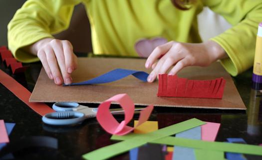 Creating 3-D Paper Sculptures