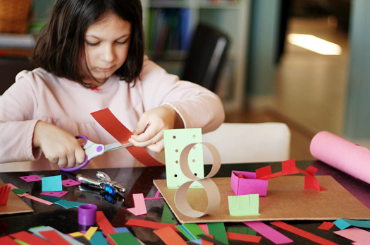 Creating 3 D Paper Sculptures With Kids Make And Takes
