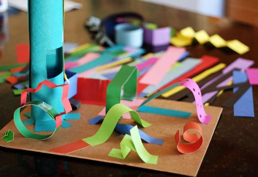 Creating 3-D Paper Sculptures Kids