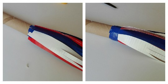 Make a Parade Stick from Duck Tape