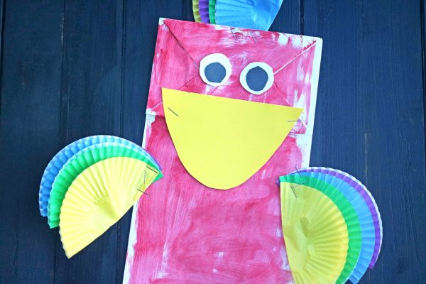 parrot kids craft