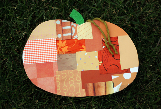 Craft a Patchwork Pumpkin