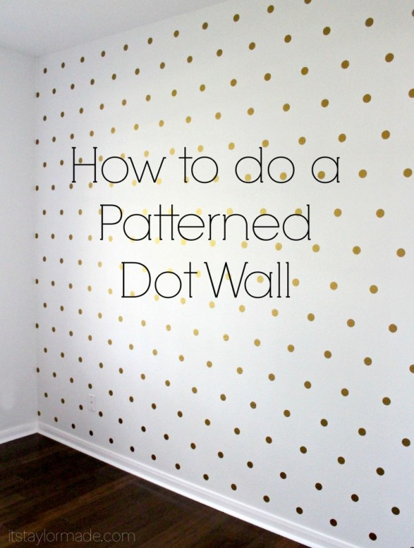 patterned dot wall