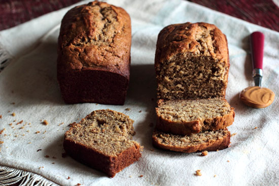 Cheering People Up with Peanut Butter Banana Bread