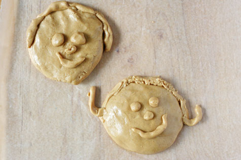 Edible Peanut Butter Play Dough
