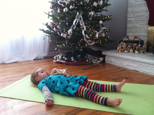Kids Yoga Savasana