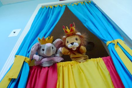 Make a Puppet Theater