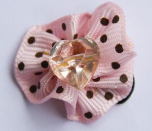pink ribbon clippie