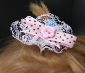 Pink Baby Hair Barrettes Tutorial
