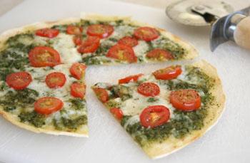 pesto pizza was spinach artichoke pesto pizza pesto pizza salami pizza ...