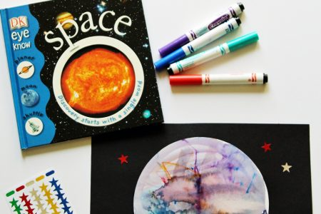 Create your own planet with this fun and easy art project