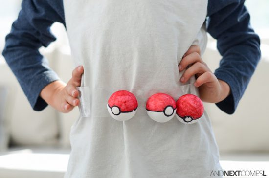 Easy DIY Pokémon Trainer Belt