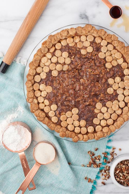 Polka Dot Pie Crust