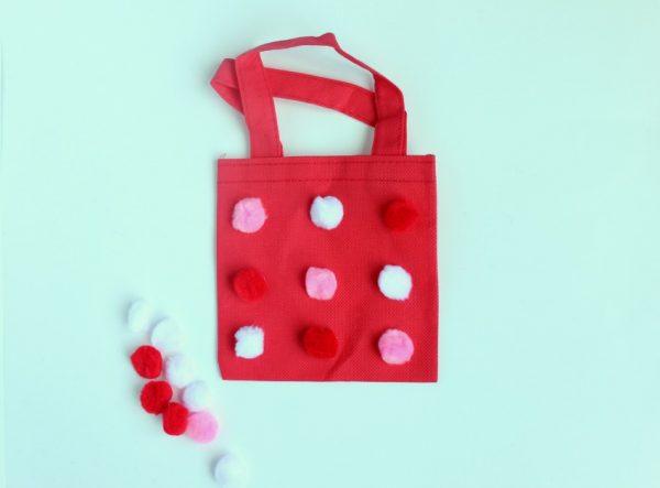 pom pom bag for kids