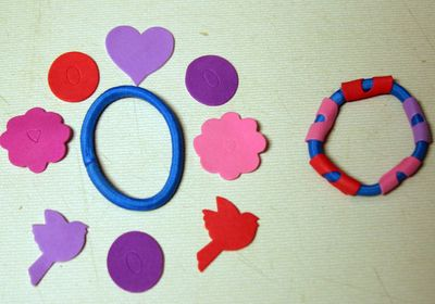 Supplies for Elastic Band Bracelets