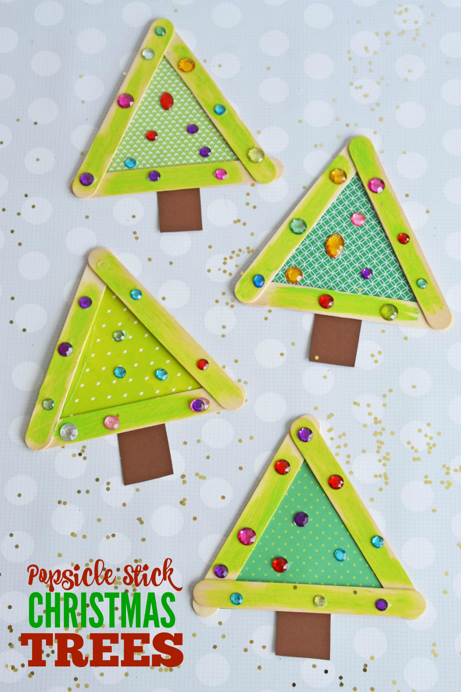 Easy Christmas Crafts With Popsicle Sticks