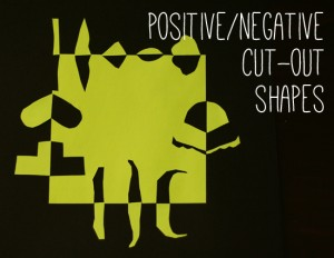 Positive/Negative Cut-Out Shape Project