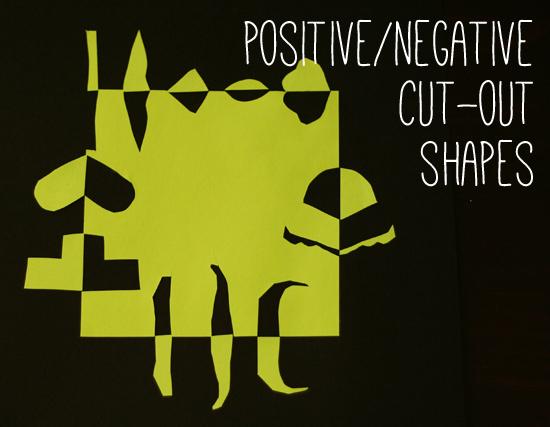 Positive/Negative Cut-Out Shape Project