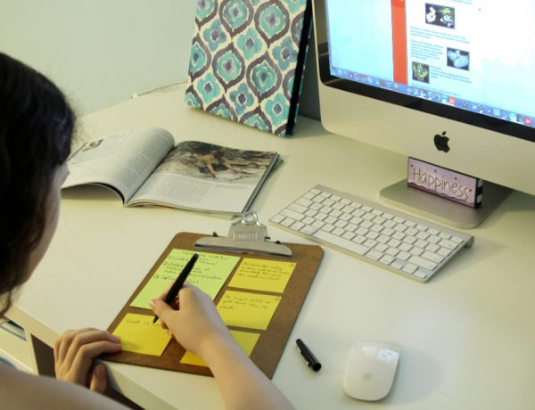 Note-taking strategy for books or computer resources