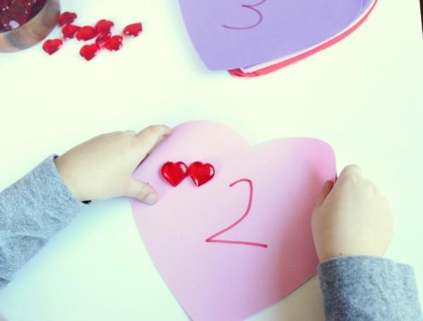preschooler counting activity