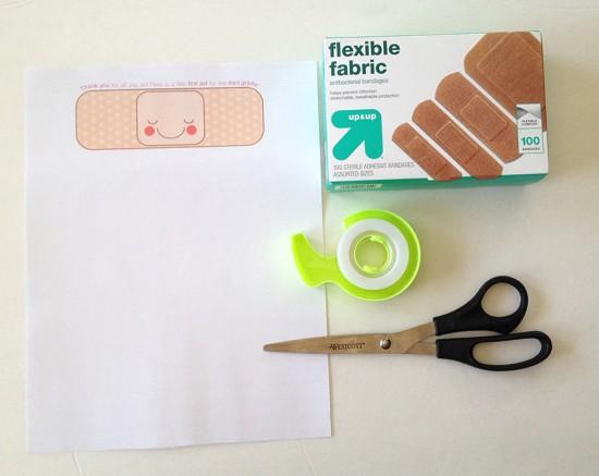 printable teacher tag bandaid 2