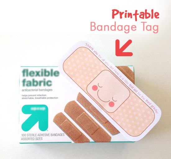 printable teacher tag bandaid 5