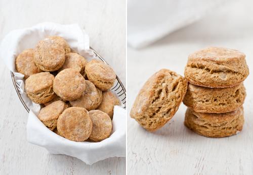 Flaky Pumpkin Biscuits