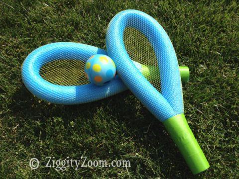 Water Balloon Tennis