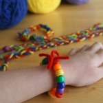 Rainbow Friendship Bracelets