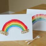 Q-tip Rainbows