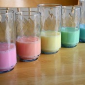 Rainbow Milk Craft