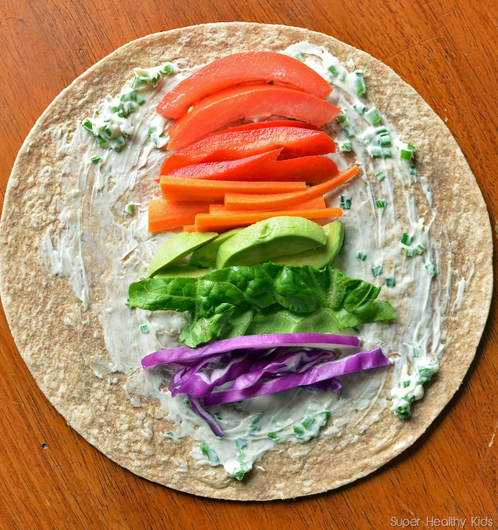 Rainbow Lunch Wrap