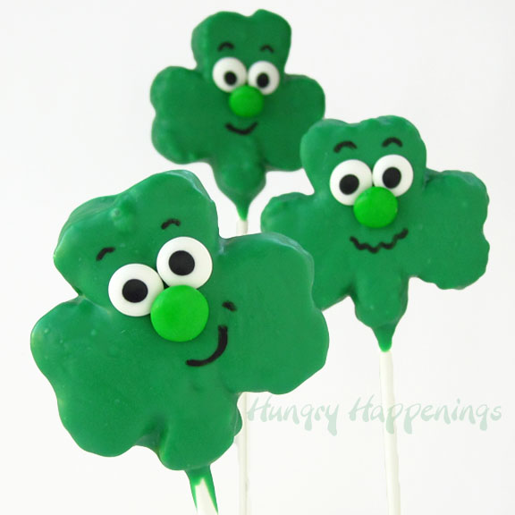 Shamrock Rick Krispie Treats