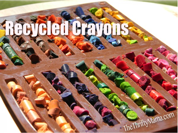 Recycled Long Crayons